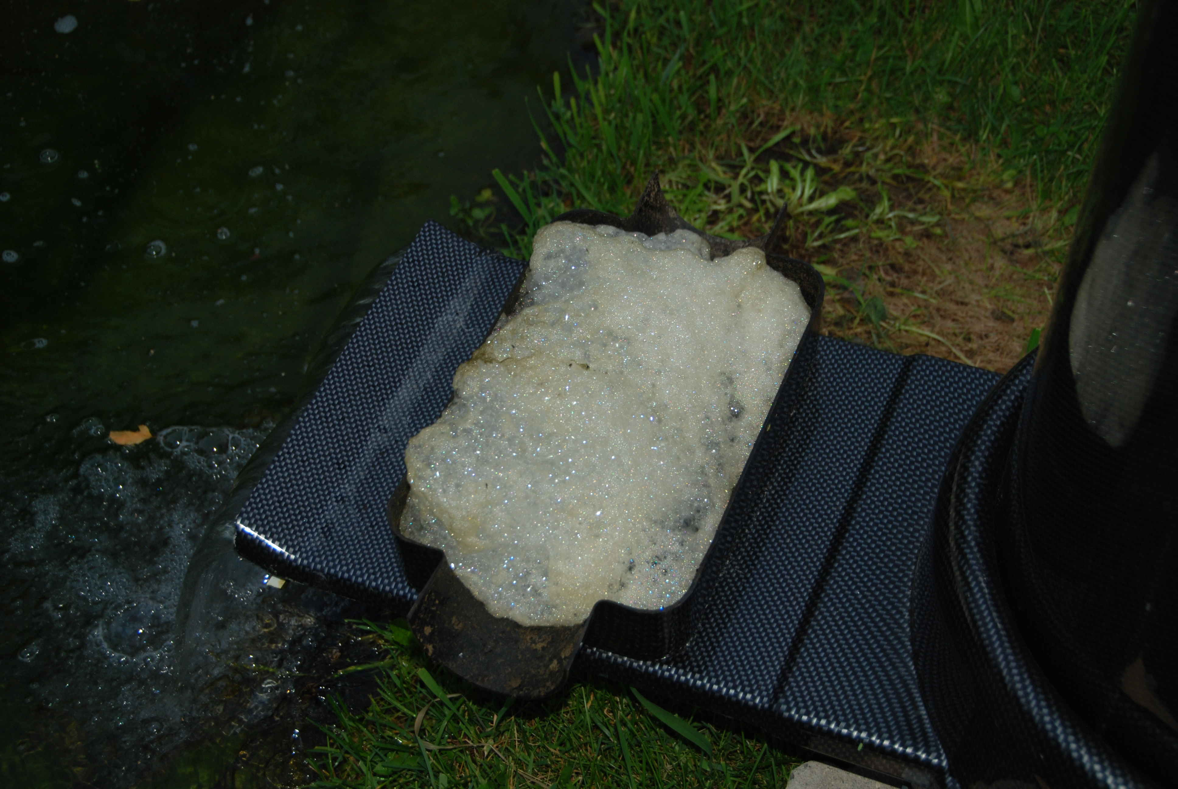 Clarity protein skimmers for Foam in koi pond