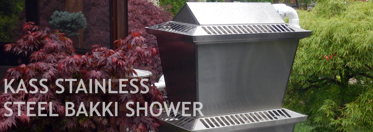 KASS Stainless Steel Bakki Shower